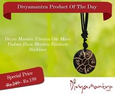This unique pendant with black thread is made from quality plastic. It has Om Mani Padme Hum Mantra  carved in it. As per Tibetan belief, Om Mani Padme Hum or Hung mantra's each syllable represents the removal of the six negative emotions which invade and govern the Body, Speech and Mind. The emotions which are Pride, Anger, Jealousy, Ignorance, Desire and Greed are purified by reciting the mantra. This is a collector's item and a unique gift item for your friends, family and colleagues.