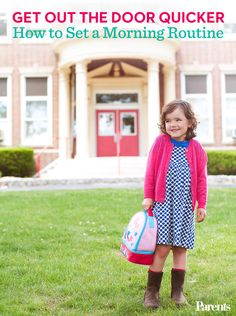 See how to schedule your morning for a seamless school day routine.