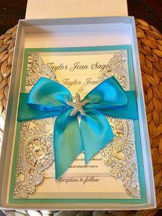 Elegant wedding invitation purple wedding invitation suite gold