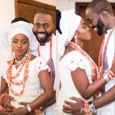 More lovely photos from Geraldine Iheme's traditional wedding - http://www.thelivefeeds.com/more-lovely-photos-from-geraldine-ihemes-traditional-wedding/