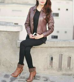 Stylish Girls Photos, Girl Photos, Stylish Outfits, Cool Dpz, Girlz Dpz, Beautiful Dresses For Women, Stylish Dpz, Girl Swag, Fall Looks