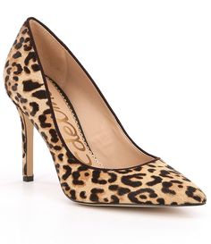 Shoes that make you in love: leopard pumps Leopard Print Heels, Leopard Shoes, Pump Shoes, Shoes Heels, Women's Pumps, White Dress Shoes, Stiletto Heels, High Heels, Mens Shoes Uk