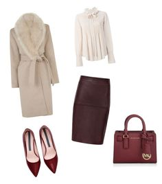 """""""Untitled #27"""" by soukupova-t on Polyvore featuring Warehouse, Chloé, Michael Kors, women's clothing, women's fashion, women, female, woman, misses and juniors"""