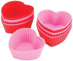 Wilton Heart Silicone Baking Cups, 12 Count *** Remarkable product available  : Baking Accessories
