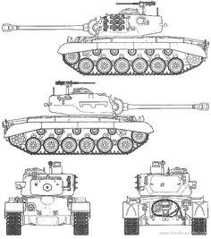 Tank photo U.S. M26 Pershing