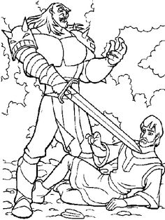 quest_for_camelot_coloring_pages_004.gif (432×576)