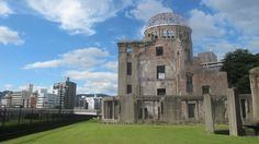 Hiroshima Atomic Bomb Dome, A-Dome, Peace Memorial. Japan.