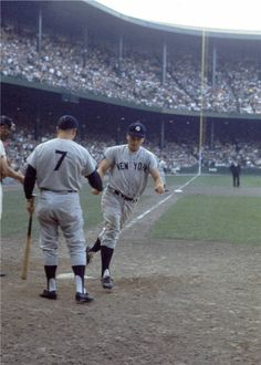 Mickey Mantle and Roger Maris - NY Yankees (1961)