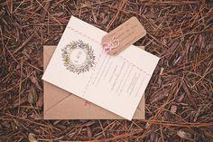 invitation set off with twine | Rob McDorman #wedding