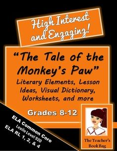 a literary analysis of the mystery in the monkeys paw by w w jacobs The theme of the monkey's paw, a short story by ww jacobs, is the danger of wish fulfillment and interfering with fate in this supernatural tale first published in 1902, a family tampers with.