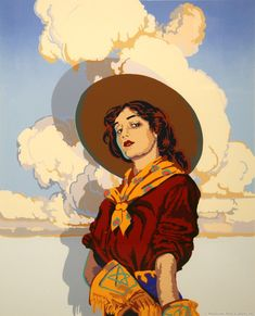 SOLD OUT Billy Schenck - Gone with the Gunsmoke (Serigraph) Billy Schenck - Partit avec la Gunsmoke (Sérigraphie) Vintage Cowgirl, Cowboy Art, Southwest Art, Le Far West, Art For Art Sake, Western Art, Art Inspo, Art Reference, Watercolor Paintings