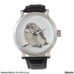 Garden Bird Wristwatches