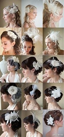Hair for weddings