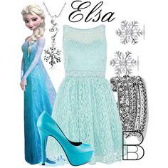 """Elsa"" by bethanybrooks on Polyvore"
