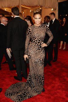 Gala MET 2013. Jennifer Lopez de Michael Kors