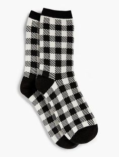 $6.65 Tartan Plaid Trouser Sock - Talbots