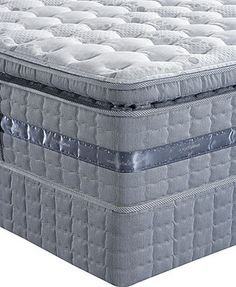 Serta Perfect Sleeper Peaceful Breeze Super Pillowtop Firm Full Mattress Set