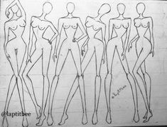 Super Ideas Fashion Drawing Sketches Body Source by drawing Fashion Sketch Template, Fashion Model Sketch, Fashion Templates, Fashion Sketches, Fashion Figure Drawing, Drawing Fashion, Fashion Illustration Poses, Croquis Fashion, Manequin