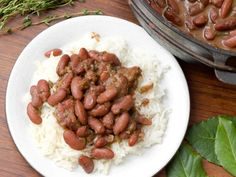 Red Beans and Rice With Smoked Turkey Might be a good solution for some leftover turkey. Thanksgiving Leftover Recipes, Leftover Turkey Recipes, Leftovers Recipes, Turkey Leftovers, Thanksgiving Leftovers, Dinner Recipes, Recipe For Salt Pork, Red Beans N Rice Recipe, Rice Recipes