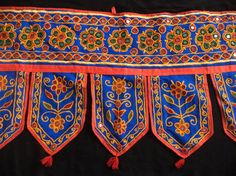Indian wall hanging with embroidered Indian by Indianparadise, $20.00