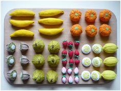 les fruits / dînette en feutrine # ma petite bohème