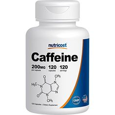 Nutricost Caffeine Pills 200mg, 120 Caps -- Visit the image link more details.