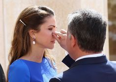 King Abdullah and Queen Rania of Jordan