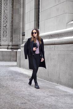 Black + White Street Style
