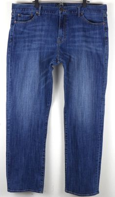 Lucky Brand 361 Vintage Straight Leg Jeans 42x34 Measures 42 x 33 Cotton Blend #LuckyBrand #ClassicStraightLeg