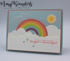 Stampin' Up! Sunshine & Rainbow for the Inkin' Krew Blog Hop – Stamp With Amy K