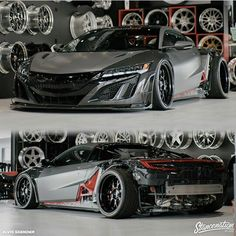 Aimgain's widebody NSX in the works! Acura Supercar, New Acura Nsx, Exotic Sports Cars, Exotic Cars, Sports Car Wallpaper, Small Trucks, Honda Cars, Lifted Ford Trucks, Import Cars