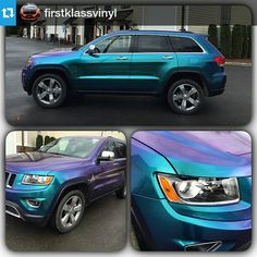 @kpmfusa changes the game with these crazy laminates. @firstklassvinyl ordered this KPMF gloss blue starlight over KPMF gloss black from @metrorestyling & killed it on this 2015 Jeep Grand Cherokee #KPMF #jeep #jeepwrap #metrorestyling #kingsofvinyl #wraplocal #elitewrappers #wrapoverpaint #justwrapit #itsawrap #vinylwrap #wrapsupplier #wrappedcars #vinylwrapping #killthatpaint #eatsleepwrap #wrap #wraps #wrappeworld #paintisdead #kpmfusa • Visit MetroRestyling.com for all your wrap material