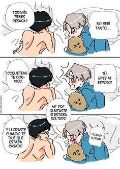 Chistes que me dan una risa inmensa/ Yuri on ice. Yuri On Ice, Victor Y Yuri, Familia Anime, Anime Lindo, ユーリ!!! On Ice, Anime Angel, Diabolik Lovers, Fujoshi, Yandere
