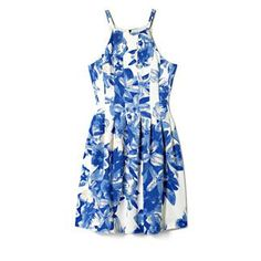 Vince Camuto Release Pleat Floral Fit-and-Flare Dress-Our tried-and-true fit and flare silhouette filled out with release pleats wins again. Vast flowers look gentle on the scuba knit, softened by a watercolor focus and porcelain blue and soft taupe coloring. This dress is an exquisite choice for a Sunday luncheon or an afternoon affair.   <li> 95% Polyester, 5% Spandex