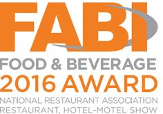 Brio Ice Cream has won a 2016 Food and Beverage (FABI) award, presented by the National Restaurant Association.