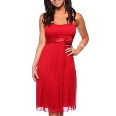 Womens Designer Flowy Pleated Evening Prom Cocktail Formal Dress