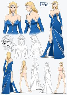 Onora - Commission by Precia-T on DeviantArt Female Character Design, Character Design Inspiration, Character Concept, Character Art, Concept Art, Fantasy Characters, Female Characters, Anime Characters, Poses References