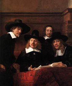 Google Image Result for http://upload.wikimedia.org/wikipedia/commons/e/e3/Rembrandt_-_Sampling_Officials_of_the_Drapers%27_Guild_(detail)_-_WGA19146.jpg
