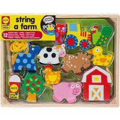 Monarch Super Kids Brick Shelf 6 Bin Storage Organiser with Construction Playtop