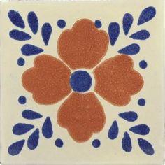 Talavera Tiles From Mexico   Hortensia Talavera Mexican Tile