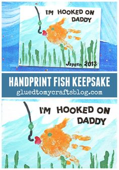 I'm Hooked On Daddy - Father's Day Gift Idea