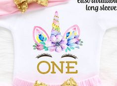 🦄 🎂 🌈 First Birthday Girl Outfit Unicorn First Birthday Bodysuit. 🦄 🎂 🌈 One Boho Shop offers the cutest and most stylish outfits 👗for your little ones 👶. From trendy to unique with a boho twist inspired designs. Whats more, all our orders are handmade and ship here in the USA 🇺🇲 and we