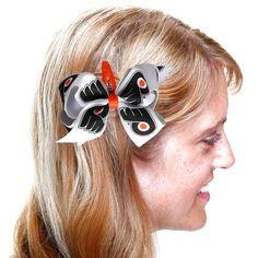 Philadelphia Flyers Women's Team Logo Hair Bow - $7.19