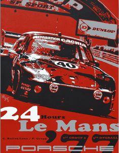 24 Hours Le Mans, 24h Le Mans, Porsche Motorsport, Racing Events, Museum, Porsche Cars, Automotive Art, Grand Prix, Vintage Posters
