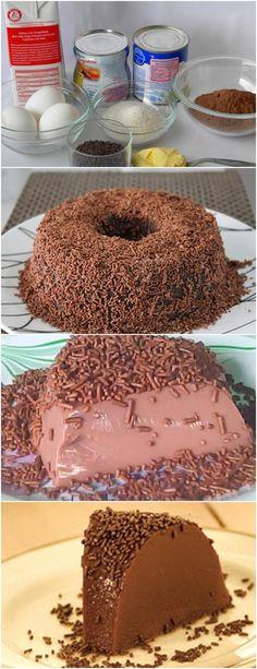 ESSA RECEITA É MUITO SIMPLES E FÁCIL DE PREPARAR!! VEJA AQUI>>>Preaqueça o forno a 180°C (temperatura média). 2. Unte uma fôrma de pudim (com furo no meio) com manteiga e polvilhe com farinha de trigo. #receita#bolo#torta#doce#sobremesa#aniversario#pudim#mousse#pave#Cheesecake#chocolate#confeitaria