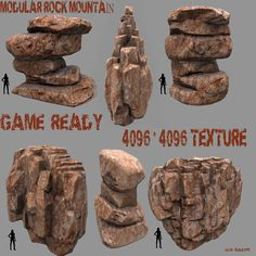 48 Best Rock Model images in 2017 | 3D Animation, Environment, Stone