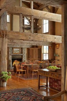 Love the square beams