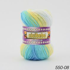 Yarn Crazy Colour, Color, Pretty Baby, Yarns, Hand Knitting, Crochet Projects, Knit Crochet, Colour, Tricot Crochet