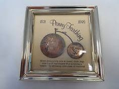 penny farthing coins bike - Google Search