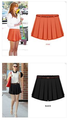 Belt Free! Tropical High Waist Pleated Skirts Womens Bermuda Short saias femininas Tulle Chiffon Mini Skirt For Plus Size Women-in Skirts from Women's Clothing & Accessories on Aliexpress.com   Alibaba Group